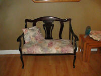 DEACONS BENCH - ANTIQUE