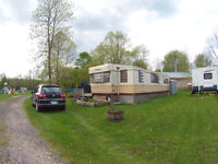 Permanant Trailer for Sale at Jaques Landing in Wasaga Beach