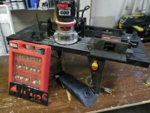 Craftsman heavy duty router 1/4 inch