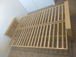 Solid Beech Wood Sofa Bed Frame (Queen-sized) TOP!