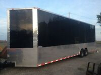 2015 freedom trailer  8.5 x 30' 9 foot ceilings