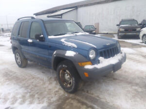 JUST IN FOR PARTS 2005 JEEP LIBERTY@PICNSAVE WOODSTOCK
