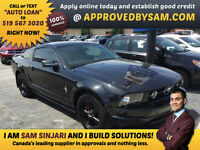 BLACK ON BLACK LEATHER FORD MUSTANG - APPLY @ APPROVEDBYSAM.COM