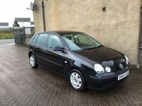 VW POLO 1.2 (54) MOT, WARRANTY, EXCELLENT CONDITION £1095
