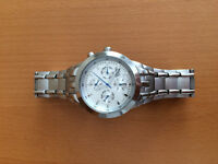 Beautiful Stainless Steel Watch Mint Condition