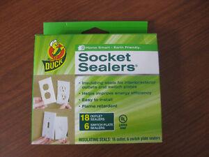 18 Outlet Socket Sealers..