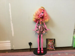 Gooliope Jellington monster high doll w/ diary and brush