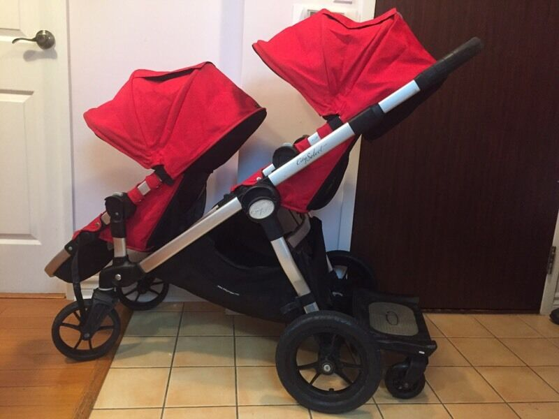 city select double stroller strollers carriers car seats city of toronto kijiji. Black Bedroom Furniture Sets. Home Design Ideas