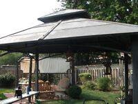 Steel bbq cover & Pergulor