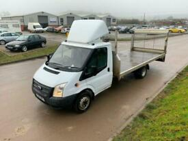 Ford Transit 2.2TDCi 2014REG 125PS 17FT FLATBED WITH TAIL LIFT FOR SALE