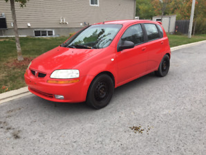 2005 Pontiac Wave Base Hatchback