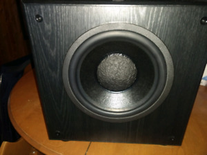 "10"" Clements Powered subwoofer speaker"
