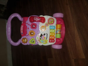 Vtech sit to stand pink Walker