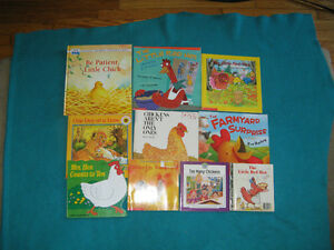 Chicken Theme Primary Reading Books