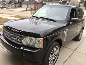 2009 Land Rover Range Rover Supercharged SUV, Crossover