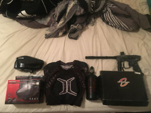 Paintball Gun and Equipment for Sale! Barely Used!