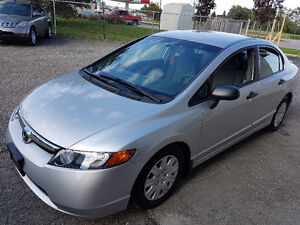 2008 Honda Civic DX-G Certified 2 YEARS WARRANTY Included