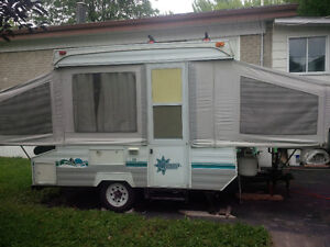 Tente-roulotte Bonair 800 Pop-up trailer