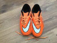 Nike Hypervenom Football Boots Size 3