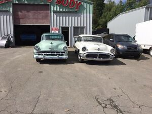 54 Chev Bel Air and 56 Olds Rocket MUST SELL!!!