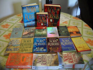 NORA ROBERTS and J.D. ROBB BOOKS
