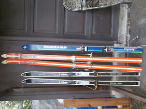 For Sale, various Downhill and Cross Country Skies, Snowshoes...