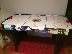 Table air hockey  Power glide