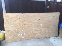 Ply Wood boards - 8x4ft boards (2 boards)