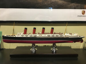1/350 Scale RMS Lusitania Museum-Quality Model