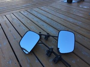 Aero towing mirrors