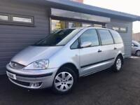 2006 Ford Galaxy 1.9TDi 115bhp Silver **7 Seater - FSH - People Carrier**