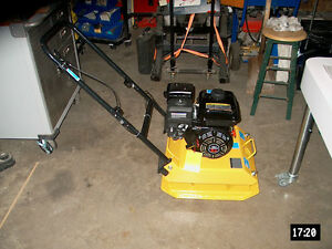 NEW LIFAN PLATE COMPACTER 6.5 HP
