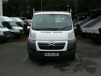 2012/12 CITROEN RELAY 35 L2 130 2.2HDI S/CAB ALUMINIUM DROPSIDE PICK-UP DIESEL