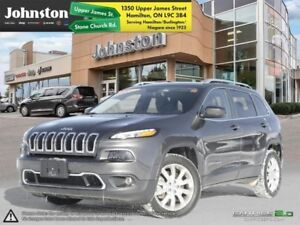 2017 Jeep Cherokee Limited  - Certified - Leather Seats - $185.4