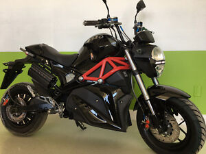 """New this year """"Emmo Proto"""" Ebike - Every bit a motorcycle"""