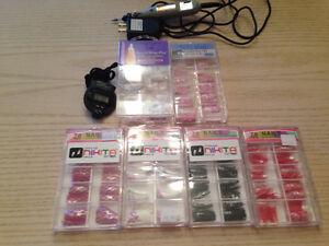 Micro engraveur et prothèses ongles- vendu ensemble ou séparé