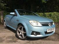 2009 (09) Vauxhall Tigra Convertible ** New Mot Issued On Purchase **