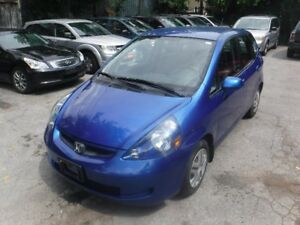 2007 Honda Fit Hatchback CERTIFIED ONLY 75000KM!!!!!!!!!