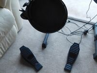 ION electronic drumkit with stool and drumsticks