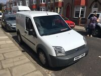 Ford transit connect t200 2008 57plate very low mileage never been used as a work van. NO VAT