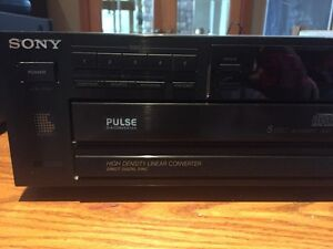 Sony 5 disc CD Player Kingston Kingston Area image 1