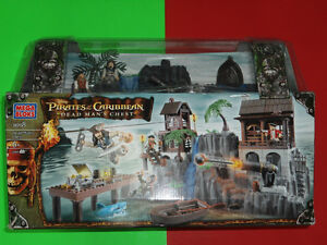 Set Mega Bloks 1018 Dead Man's Chest Pirate of the Caribbean BTJ