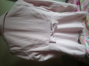 Small women Charlotte Russe light pink jacket- cute bow on back