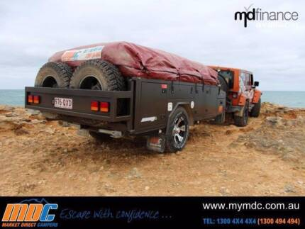 MDC Aussie Nomad 'Step through' Offroad Camper Trailer Coopers Plains Brisbane South West Preview