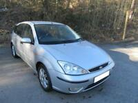 2004 '54' FORD FOCUS 1.8 GHIA 5 DOOR HATCH IN SILVER 113,000 MILES