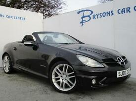2007 07 Mercedes-Benz SLK200 Kompressor 1.8 auto for sale AYRSHIRE