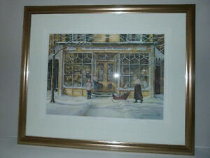 "Trisha Romance Christmas ""The Window Shoppers"" #275/950"