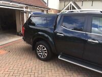 Genuine Nissan Navara Top Box - Black
