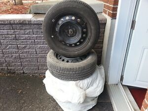 New Good Year Tires (4) with Rims 205-55R16
