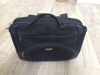 Genuine Samsonite laptop travel bag black